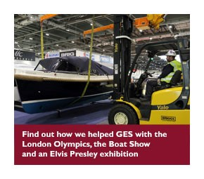 Short term hire supports GES events